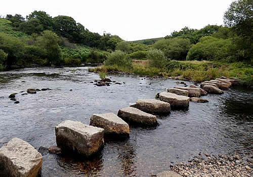 Photo Gallery Image - Stepping Stones at Week Ford near Huccaby