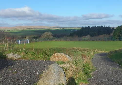 Photo Gallery Image - Playing Field at Princetown
