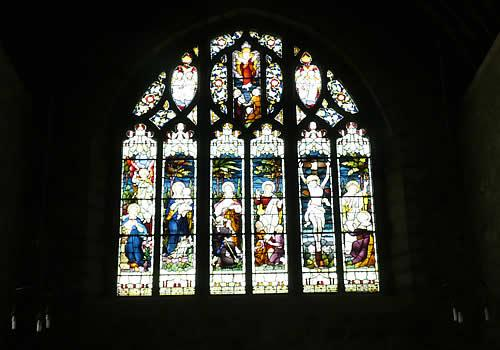 Photo Gallery Image - St Michael and All Angels Church Stained  Glass Window Princetown
